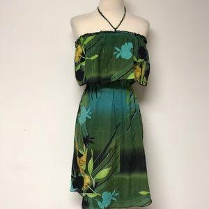 Hawaiian Halter Dress
